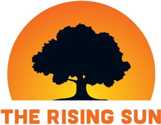 The Rising Sun logo
